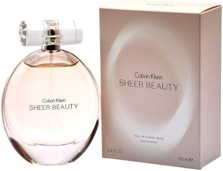 Calvin Klein Sheer Beauty toaletní voda 100 ml + výdejní místa po celé ČR