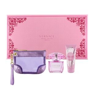 Versace Bright Crystal Absolu dárková sada 90 ml EDP + 100 ml tělové mléko + klíčenka + výdejní místa po celé ČR