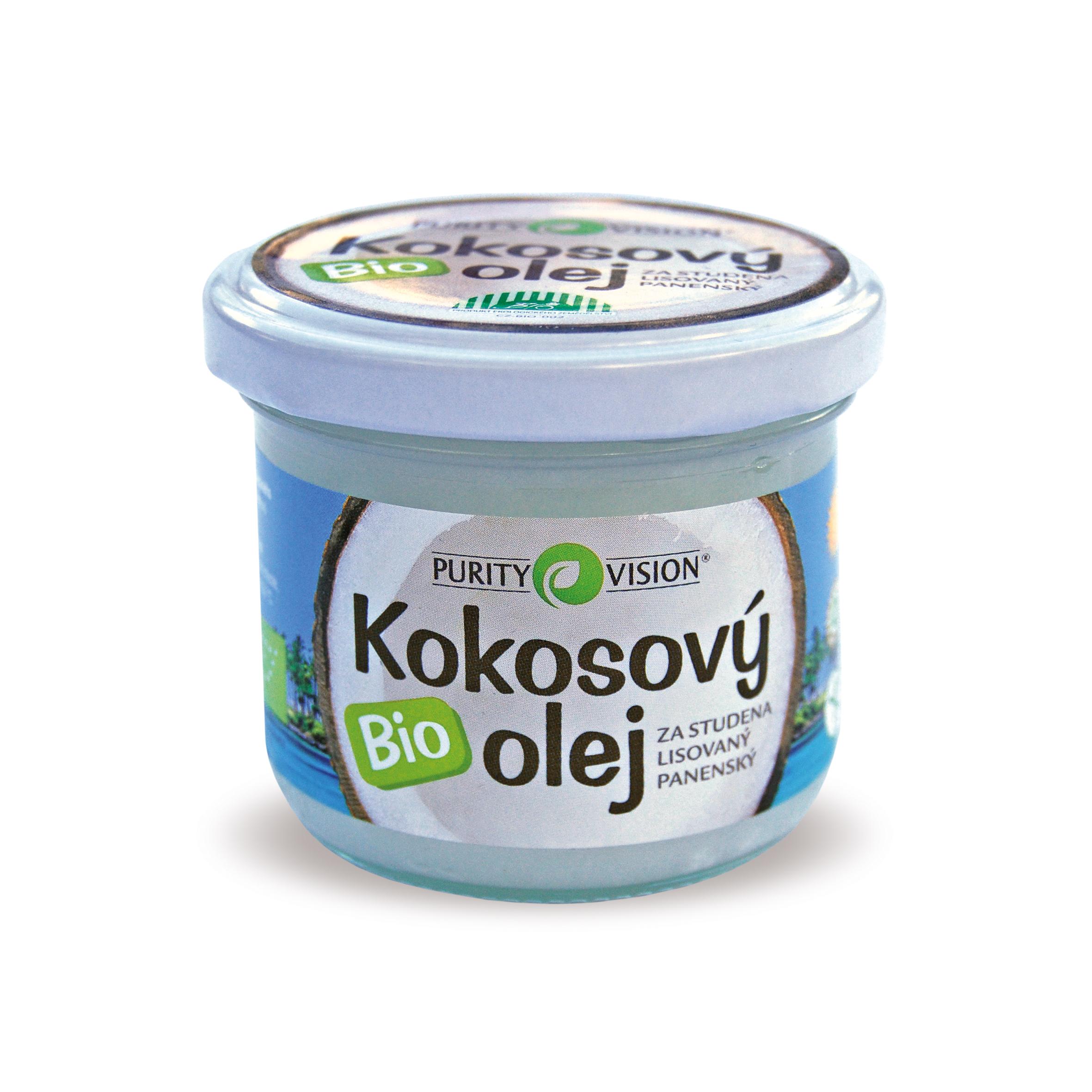 Purity Vision BIO Panenský kokosový olej 100 ml + výdejní místa po celé ČR