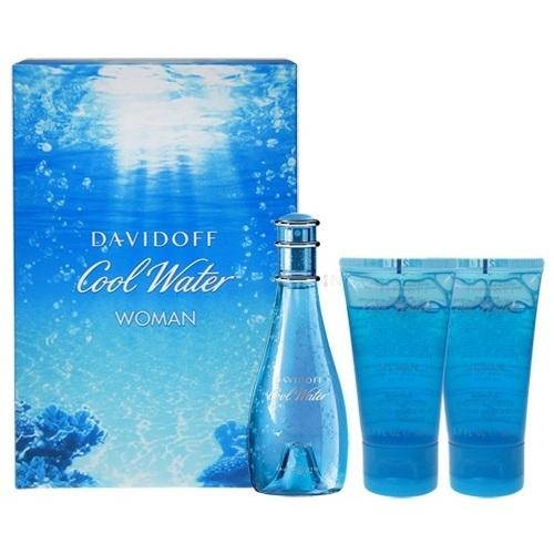 Davidoff Cool Water dárková kazeta EDT 100ml+75ml Tělové mléko+75 ml sprchový gel + výdejní místa po celé ČR