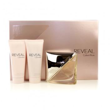 Calvin Klein Reveal dárková sada Edp 100 ml + 100 ml tělové mléko + 100 ml sprchový gel + výdejní místa po celé ČR