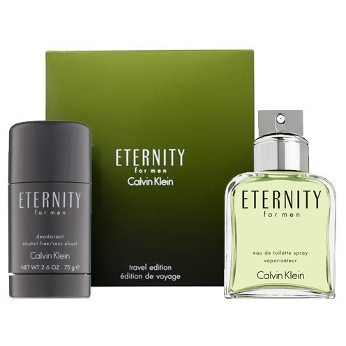 Calvin Klein Eternity dárková sada Edt 100 ml + tuhý deodorant 75ml + výdejní místa po celé ČR