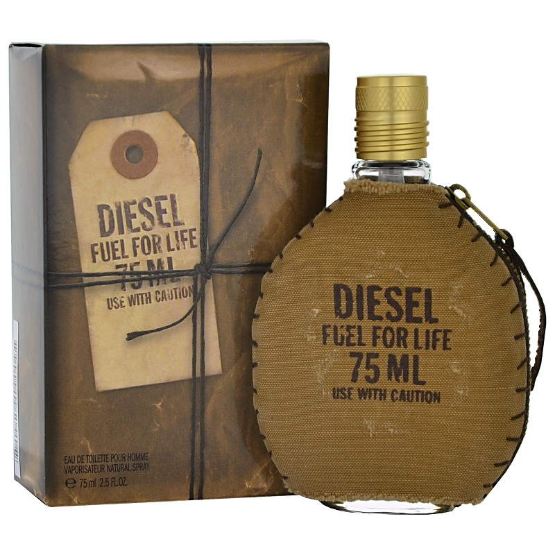 Diesel Fuel for Life Homme toaletní voda 125 ml + výdejní místa po celé ČR