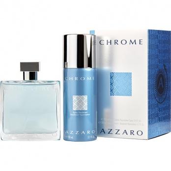 Azzaro Chrome dárková sada pro muže