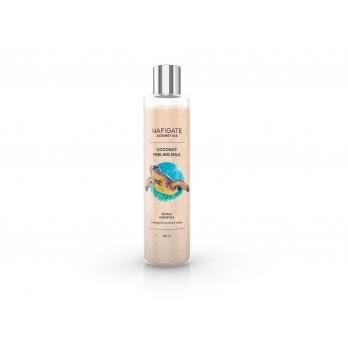 NAFIGATE Cosmetics Peelingové sprchové mléko - Coconut Peeling Milk