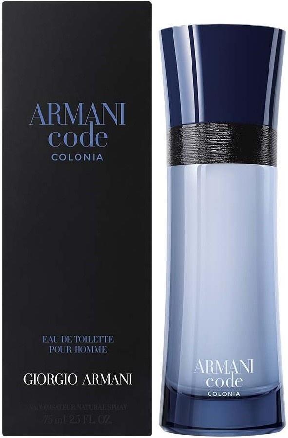 Giorgio Armani Code Colonia toaletní voda pro muže 50 ml + výdejní místa po celé ČR