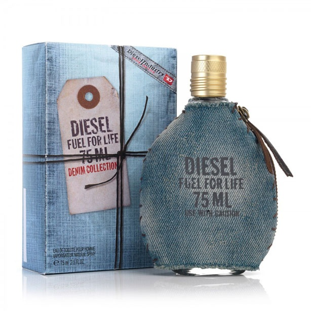 DIESEL Fuel For Life Denim Collection Pour Homme toaletní voda