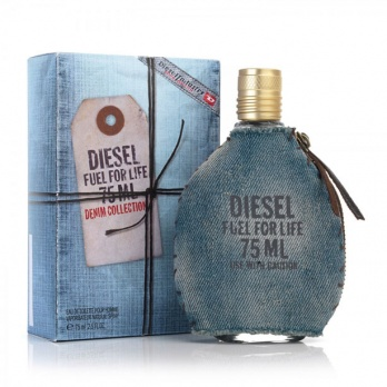 DIESEL Fuel For Life Denim Collection Pour Homme toaletní voda