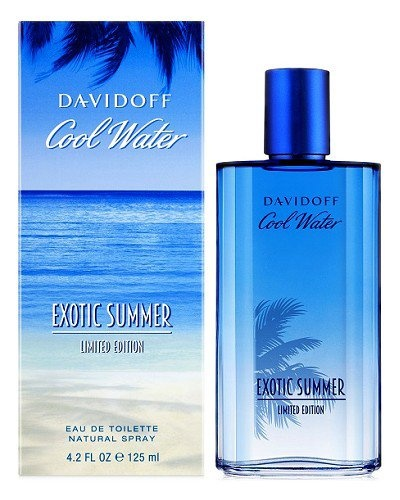Davidoff Cool Water Exotic Summer Limited Edition for Man toaletní voda 125 ml + výdejní místa po celé ČR