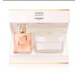 CHANEL Coco Mademoiselle Dárková sada parfémová voda 50 ml + tělový krém 150 g pro ženy