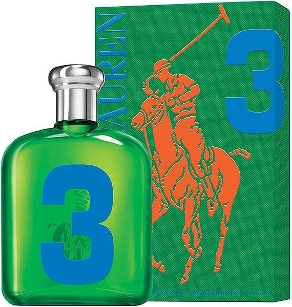 Ralph Lauren Big Pony 3 Green toaletní voda