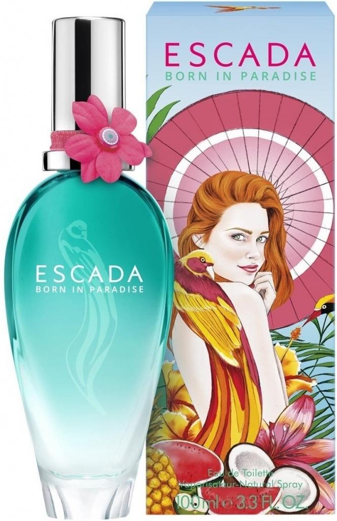 Escada Born In Paradise toaletní voda 100 ml tester + výdejní místa po celé ČR