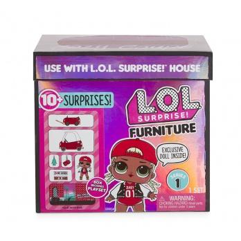 L.O.L. Surprise! Cozy Coupe Nábytek s panenkou Autosalon & M.C. Swag