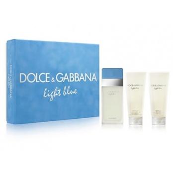 DOLCE GABBANA Light Blue dárkový set