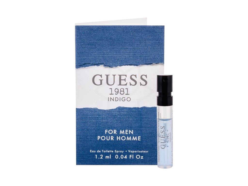 Guess Guess 1981 Indigo For Men toaletní voda pro muže