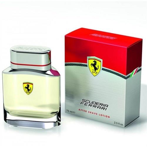 Ferrari Scuderia Red voda po holení
