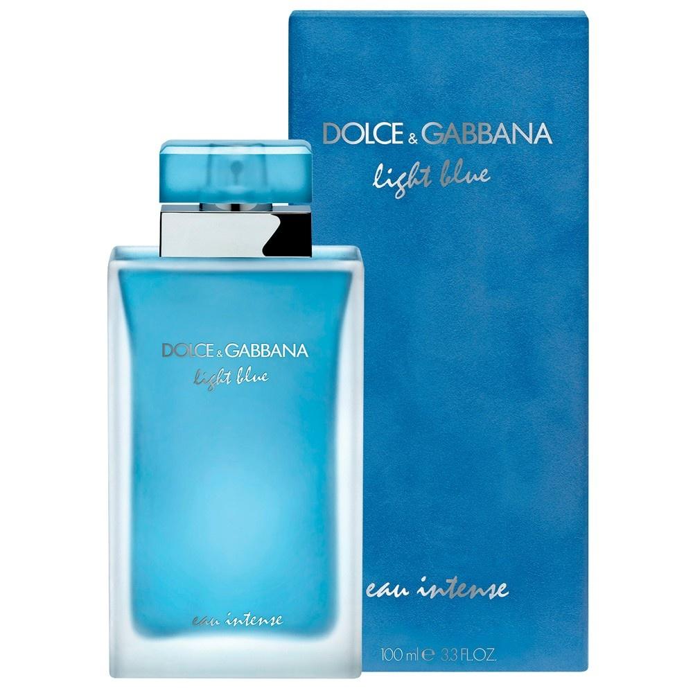 Dolce & Gabbana Light Blue Eau Intense parfémová voda pro ženy 100 ml + výdejní místa po celé ČR
