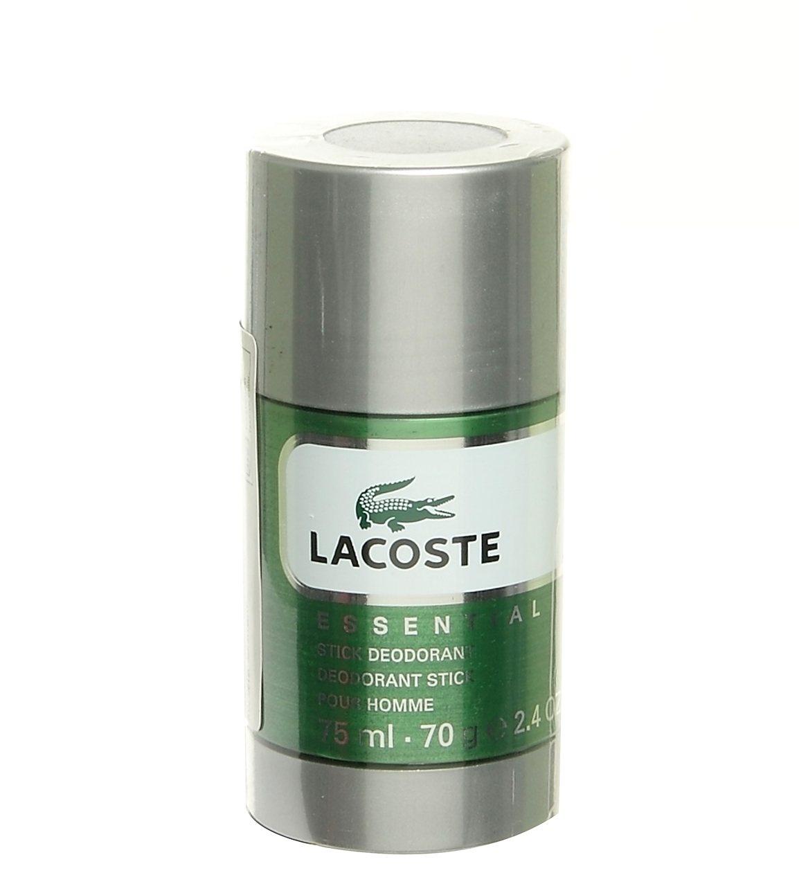 Lacoste Essential tuhý deodorant 75 ml + výdejní místa po celé ČR