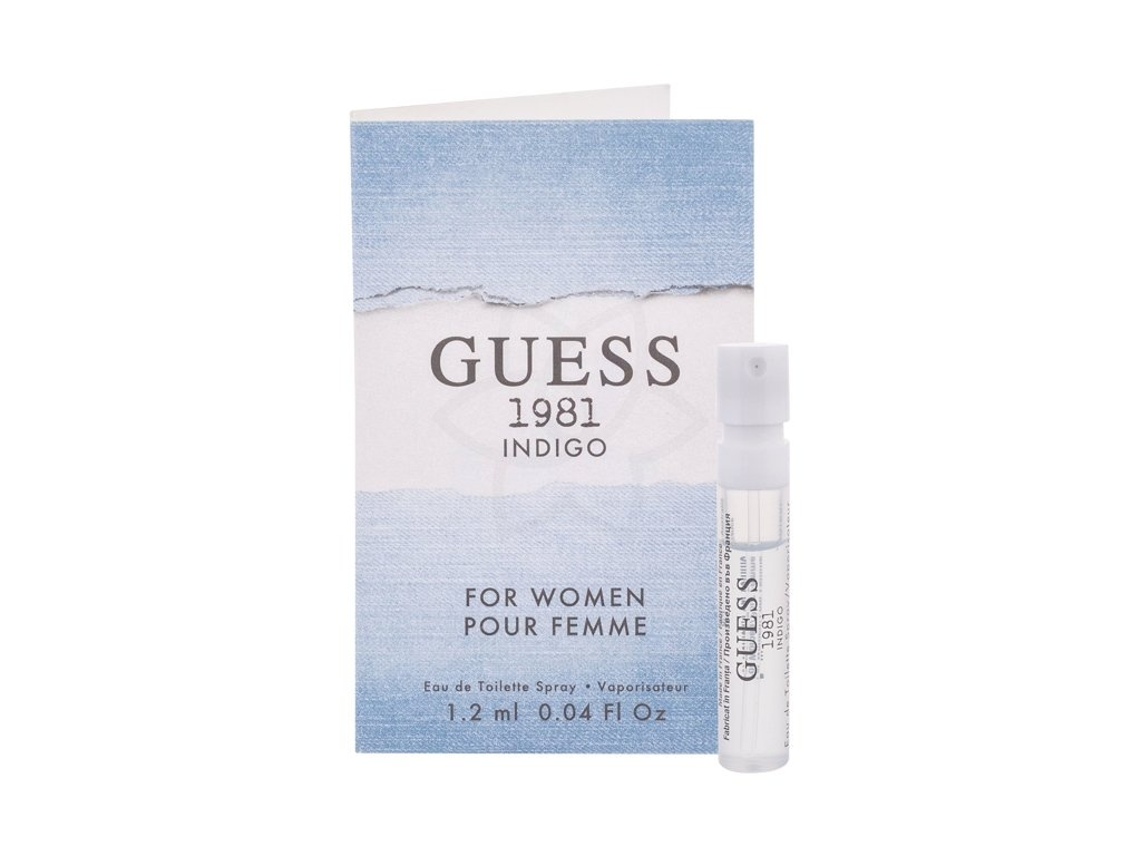 Guess Guess Indigo 1981 For Women toaletní voda pro ženy