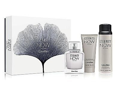 Calvin Klein Eternity Now for Men dárková sada Edt 100 ml + Sprchový gel 100 ml + Tělový sprej 152g + výdejní místa po celé ČR