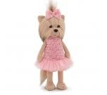 Orange Toys Yoyo v růžičkových šatech - světle hnědá jorkšírka