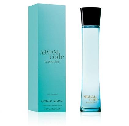 Giorgio Armani Code Turquoise EDF osvěžující voda pro ženy