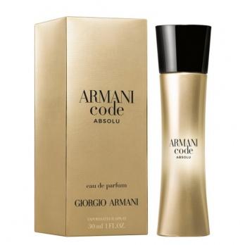 Giorgio Armani Code Absolu pour femme parfémovaná voda pro ženy