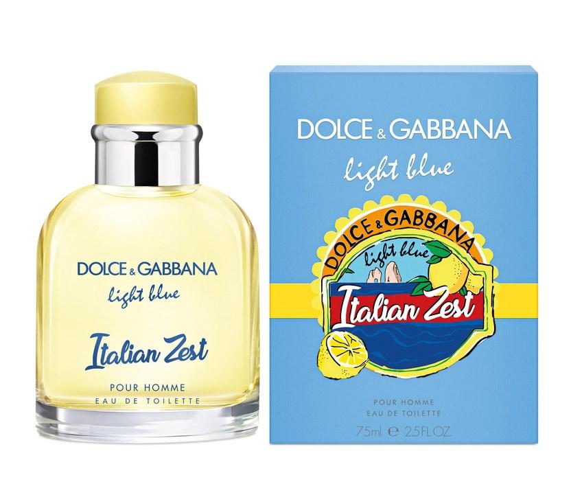 Dolce & Gabbana Light Blue Italian Zest pour homme toaletní voda pro muže