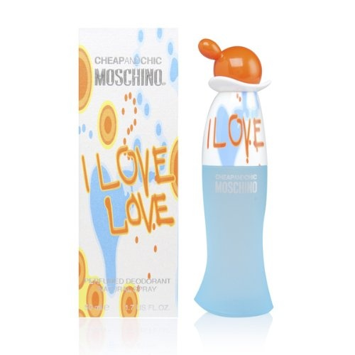 Moschino I Love Love deodorant s rozprašovačem