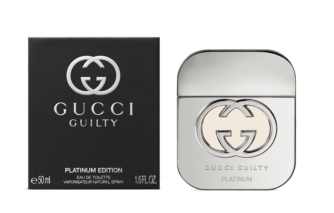 Gucci Guilty Platinum Edition for Women toaletní voda