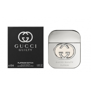 Gucci Guilty Platinum Edition for Women toaletní voda