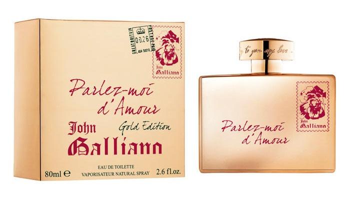 John Galliano Parlez-Moi d´Amour Gold Edition toaletní voda