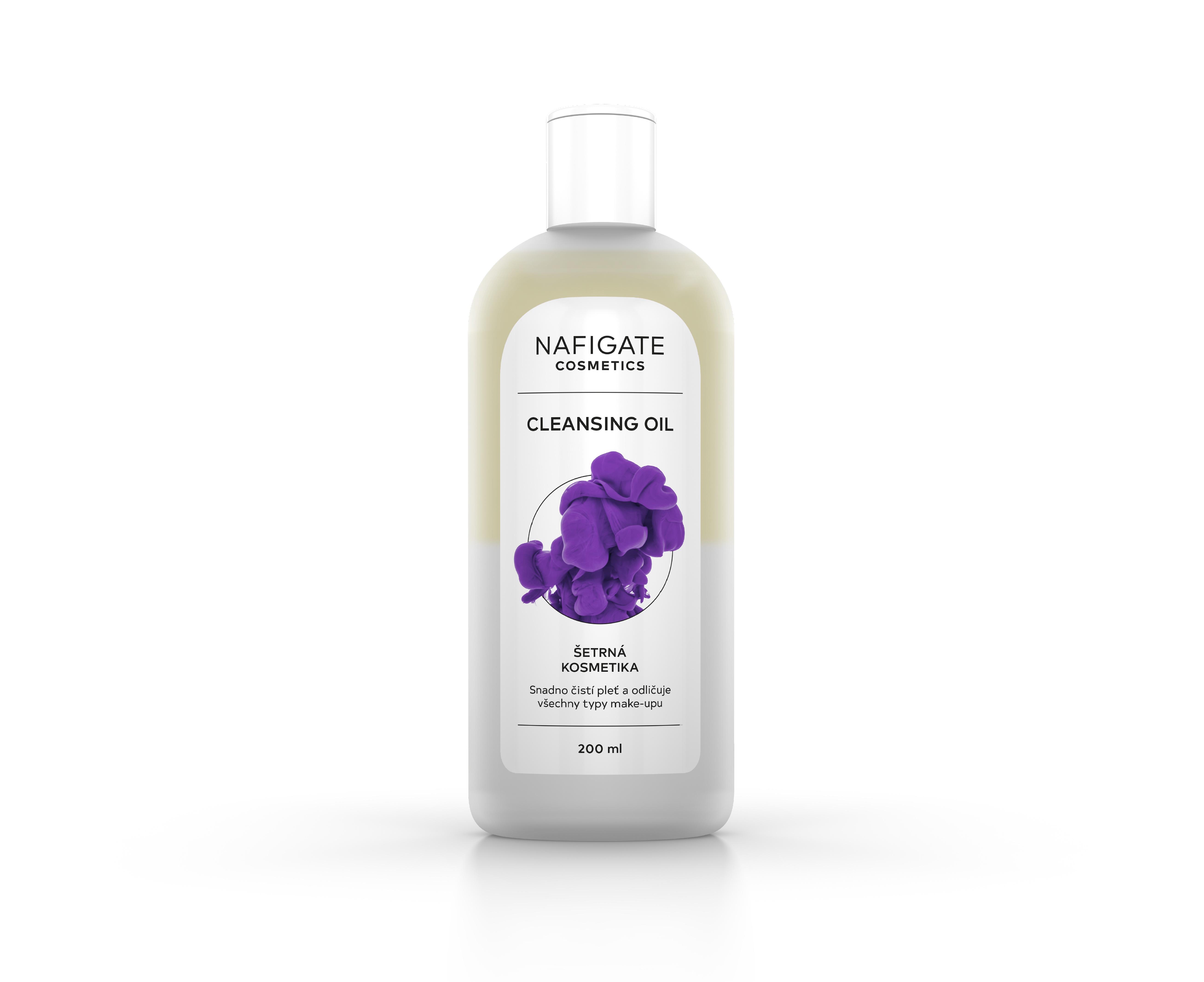 NAFIGATE Cosmetics dvoufázový odličovací olej - Cleansing Oil