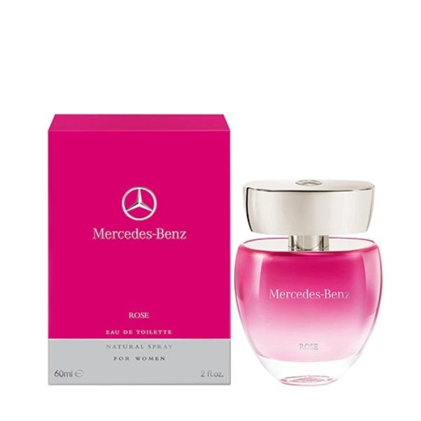Mercedes Benz Rose toaletní voda pro ženy 60 ml + výdejní místa po celé ČR