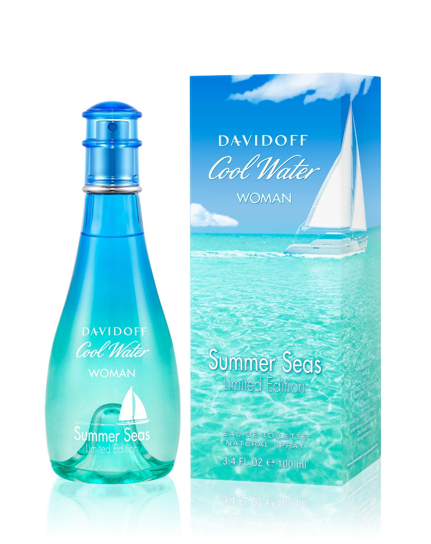 Davidoff Cool Water Women Summer Seas Limited Edition toaletní voda