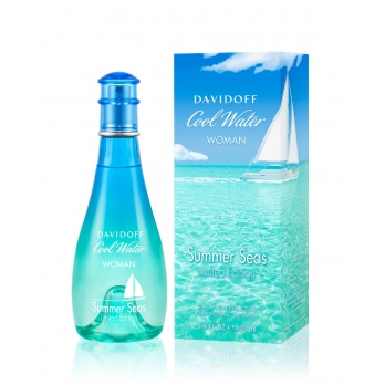 Davidoff Cool Water Women Summer Seas Limited Edition toaletní voda