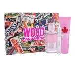 Dsquared2 Wood Pour Femme dárková sada pro ženy