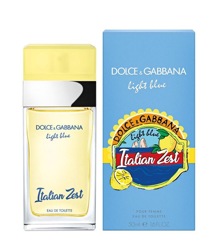 Dolce & Gabbana Light Blue Italian Zest pour femme Toaletní voda pro ženy