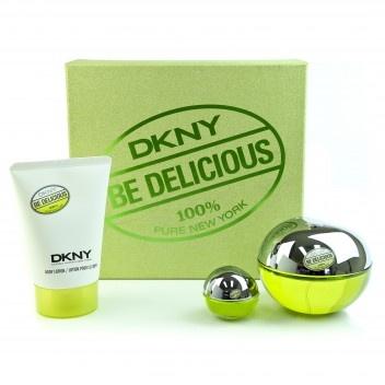 DKNY Be Delicious Woman dárková sada Edp 50ml + 100ml tělové mléko + výdejní místa po celé ČR