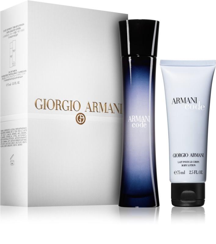 Giorgio Armani Code dárková sada