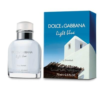 Dolce Gabbana Light Blue Pour Homme Living Stromboli toaletní voda