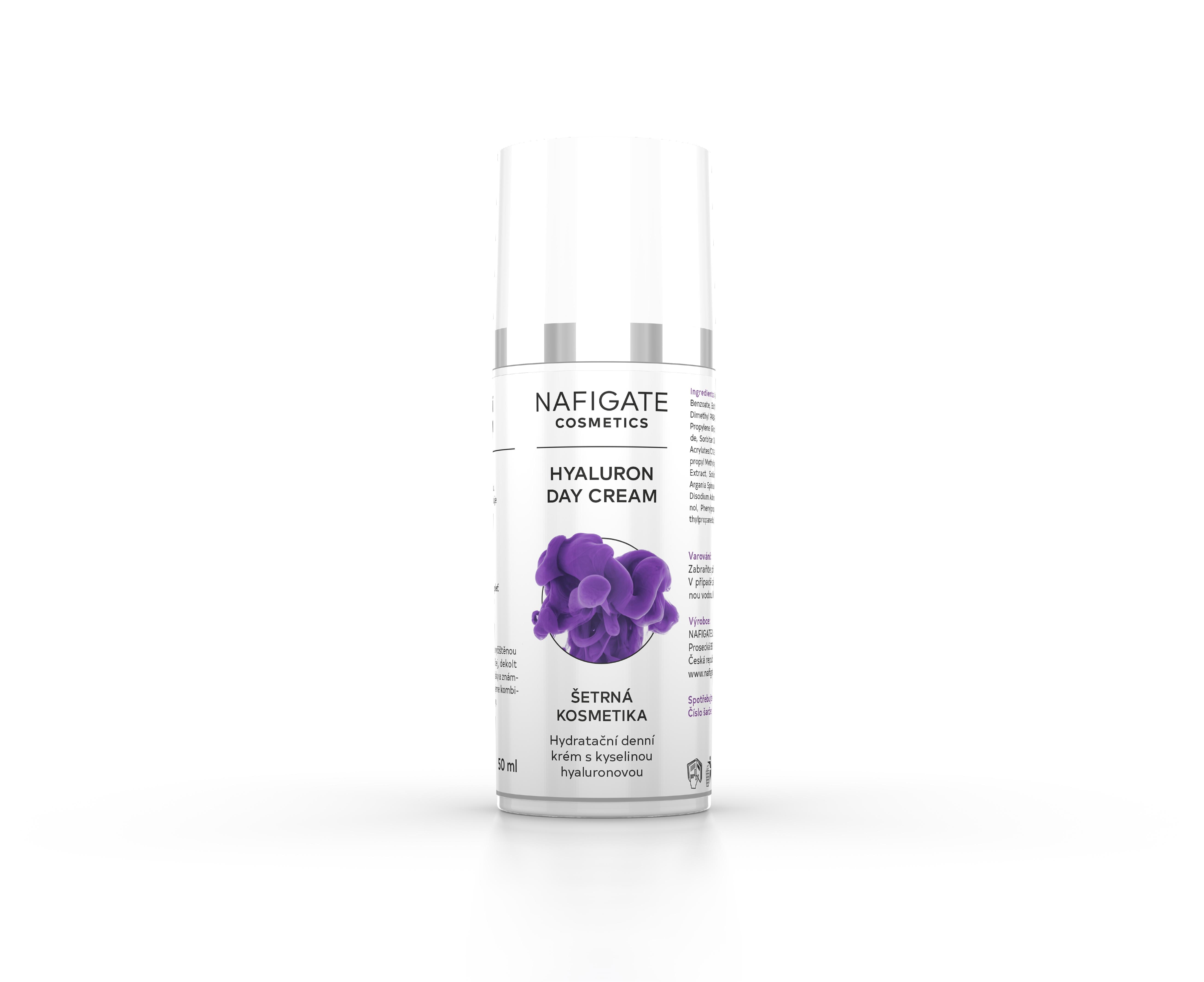 NAFIGATE Cosmetics Hydratační denní krém - Hyaluron Day Cream