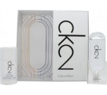 Calvin Klein CK2 dárková sada Unisex