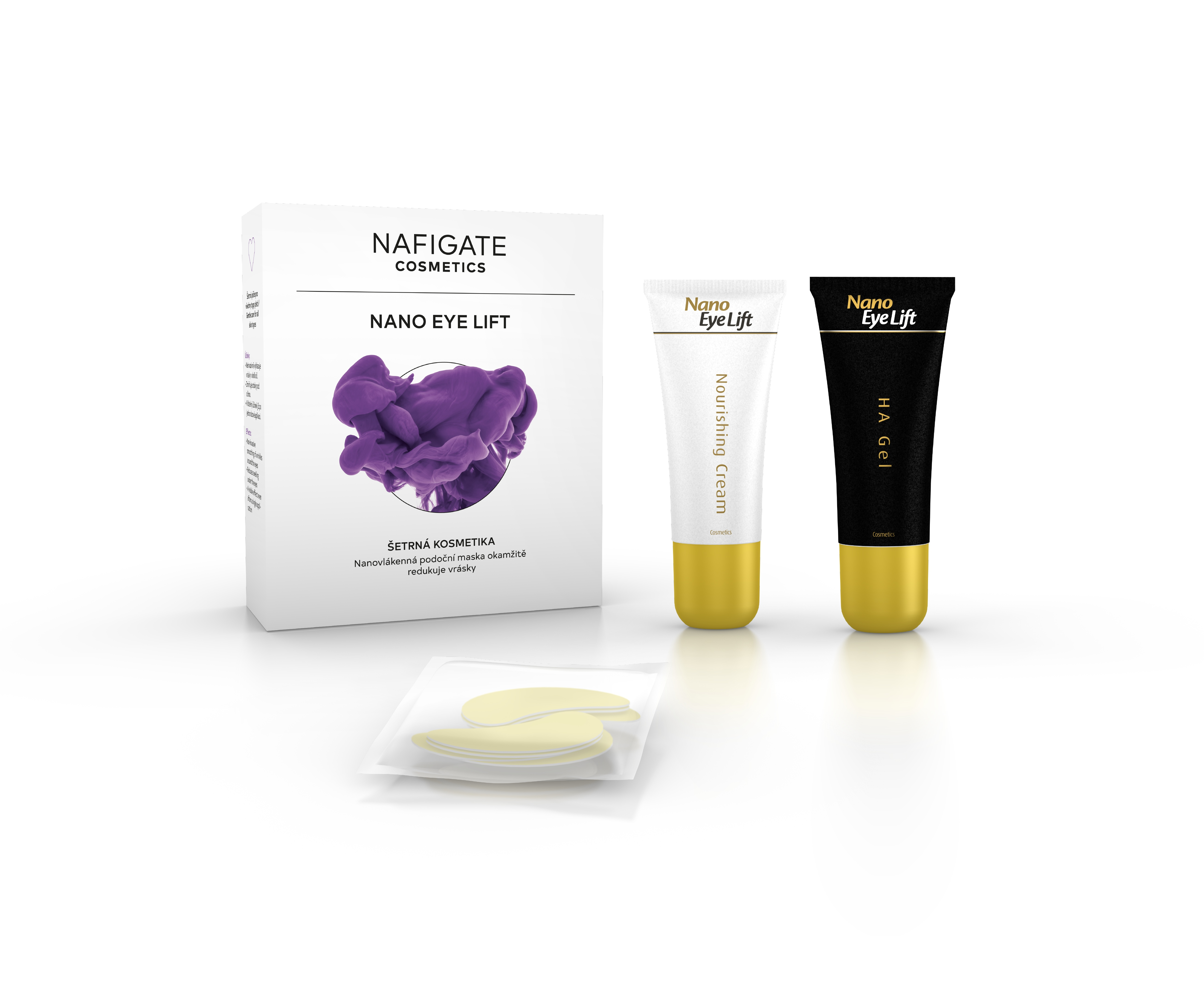 NAFIGATE Cosmetics Podoční maska - Nano Eye Lift