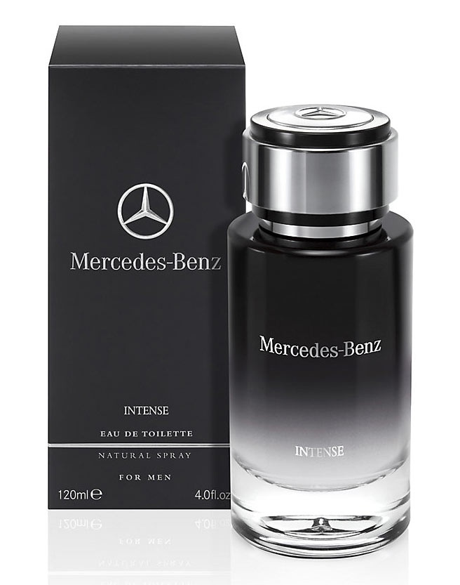 Mercedes Benz Mercedes Benz Intense toaletní voda 75 ml + výdejní místa po celé ČR