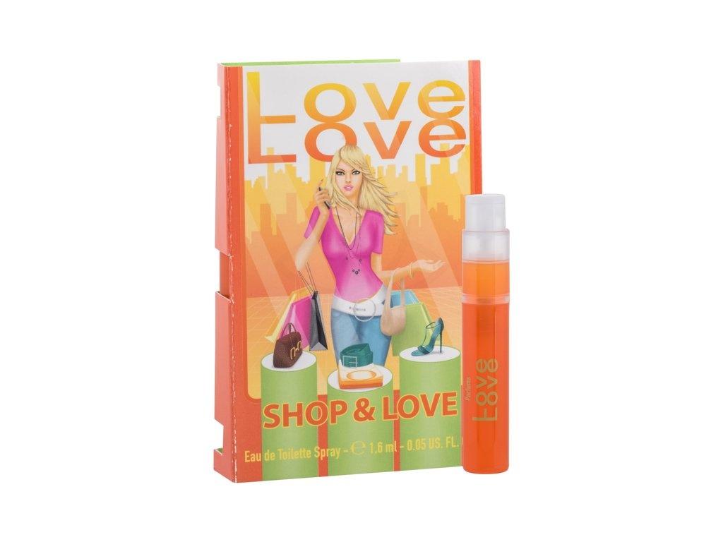 Love Love Shop & Love toaletní voda